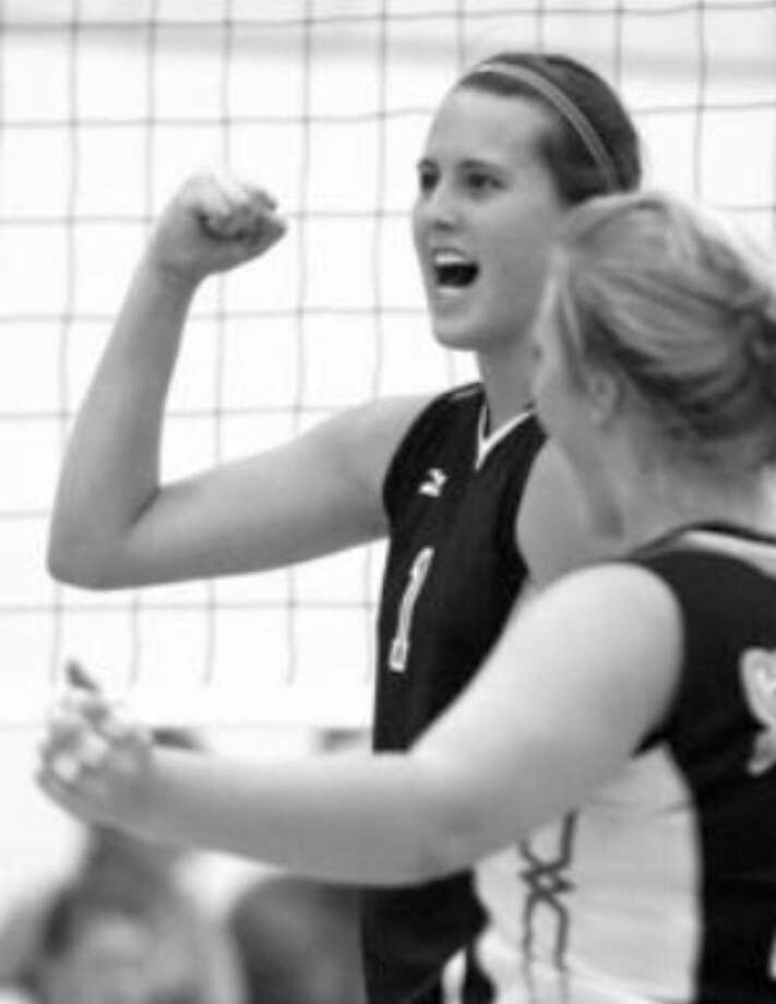 "Steele's McKenzie Adams (left) is No. 24 nationally on prepvolleyball.com's ""Senior Aces"" list."