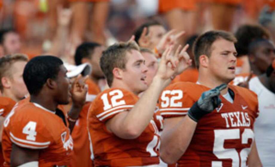 Colt McCoy (12) and Texas look like the class of an underachieving Big 12 South.