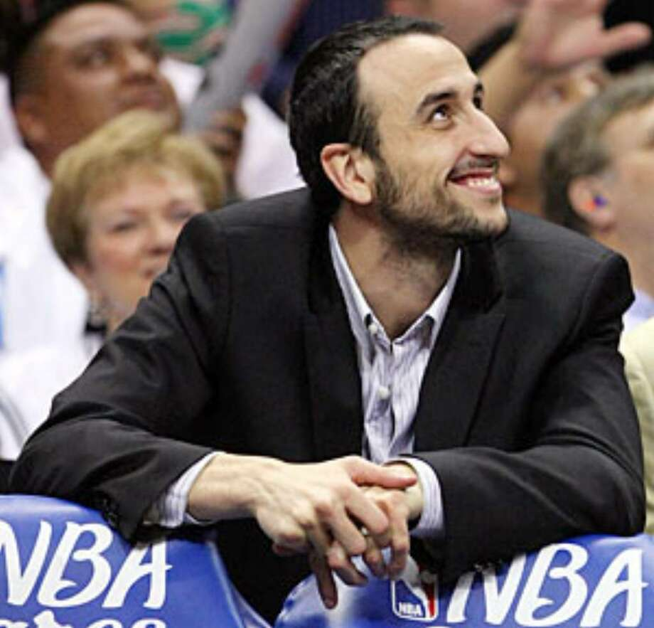 The Spurs' Manu Ginobili, who's from Argentina, is one of the players who'll be in the ads.