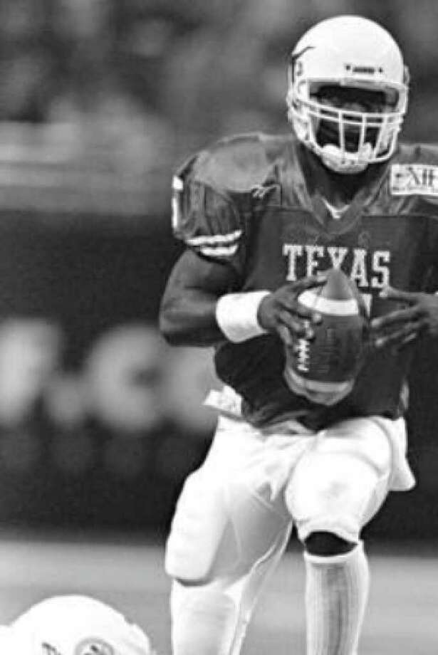 QB James Brown's performance in 1996 against Nebraska lives in Longhorns lore, but UT hopes the circumstances don't reverse themselves in the Cornhuskers' favor on Saturday.