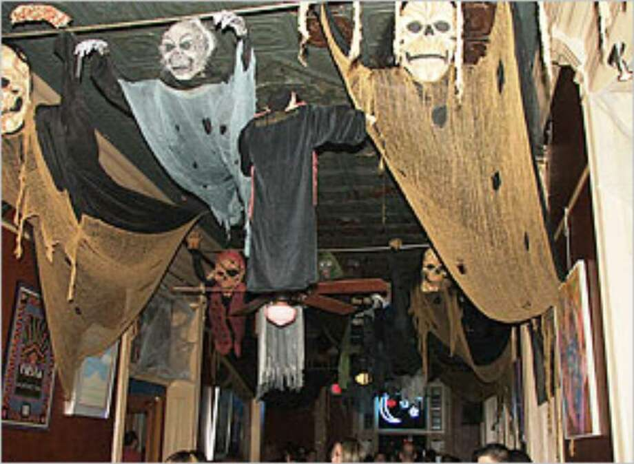 The Bonham Exchange will be filled with ghosts and goblins (not all hanging from the ceiling) this weekend.