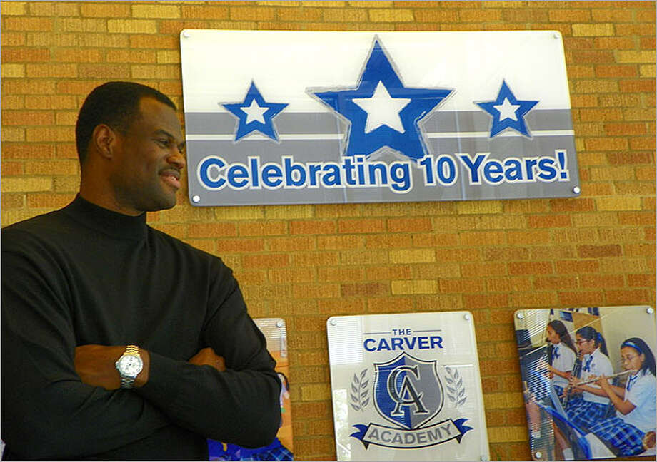 The East Side's Carver Academy, founded by former San Antonio Spur and local businessman David Robinson, marked its 10-year anniversary this fall.