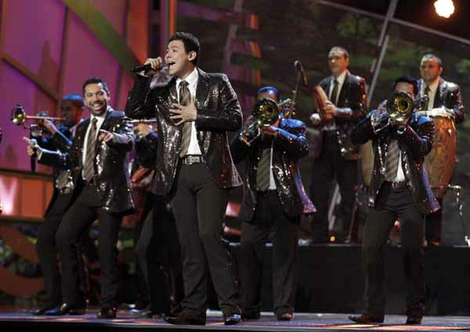 Banda El Recodo performs onstage at the 11th Annual Latin Grammy Awards on Thursday, Nov. 11, 2010, in Las Vegas.
