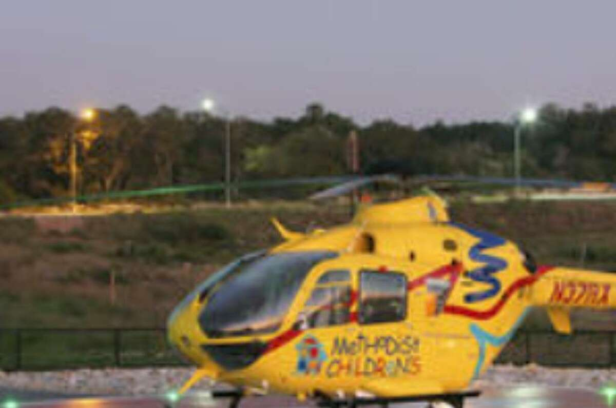 This Methodist AirCare chopper is the first in Methodist Healthcare's new air transport system.