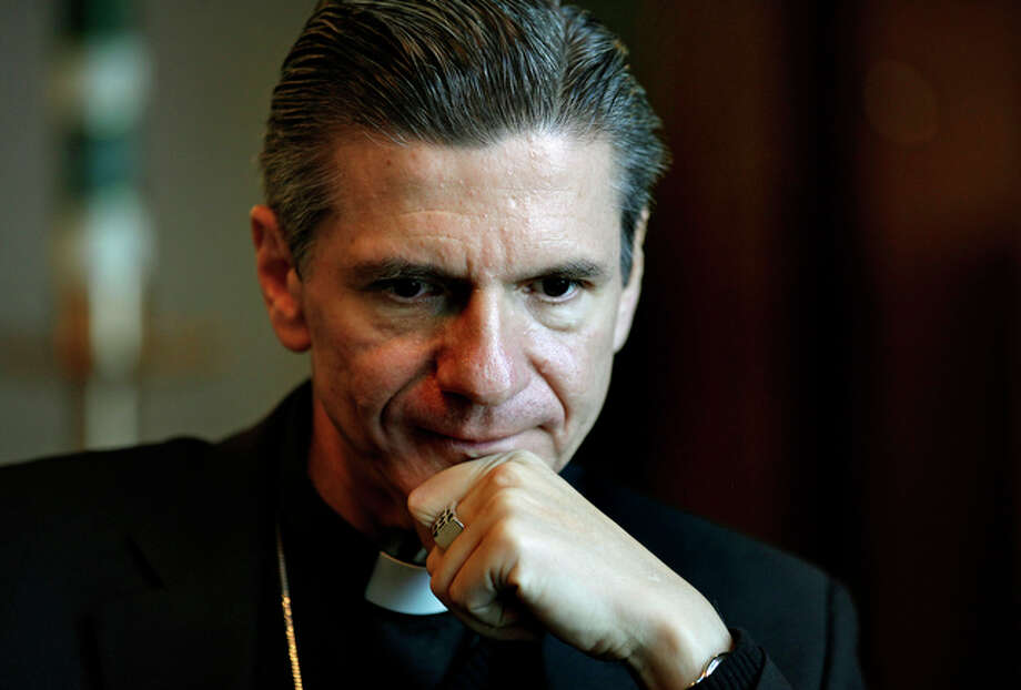 The new Catholic Archbishop for San Antonio is Bishop Gustavo Garcia-Siller of Chicago. / rowen@express-news.net