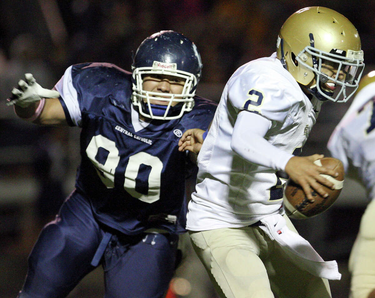 Saturday, Sept. 8 Central Catholic (1-1) 7 at Holy Cross (1-1) 8