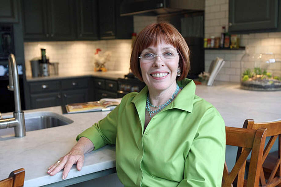 Cappy Davidson took in a screened porch to expand her kitchen.