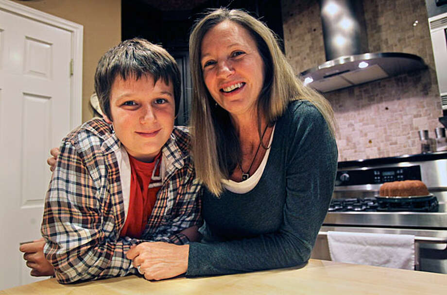 Jackson Mosley is following in mother Becky's culinary footsteps. / © 2010 San Antonio Express-News