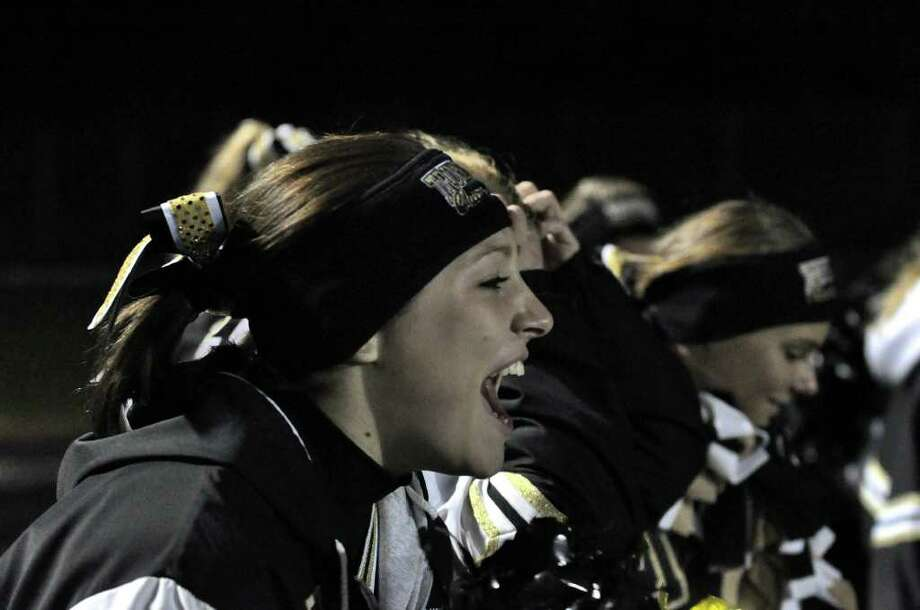 Trumbull versus Conard during the CIAC quarterfinal football game at Trumbull on Tuesday, Nov. 30, 2010. Photo: Amy Mortensen / Connecticut Post Freelance
