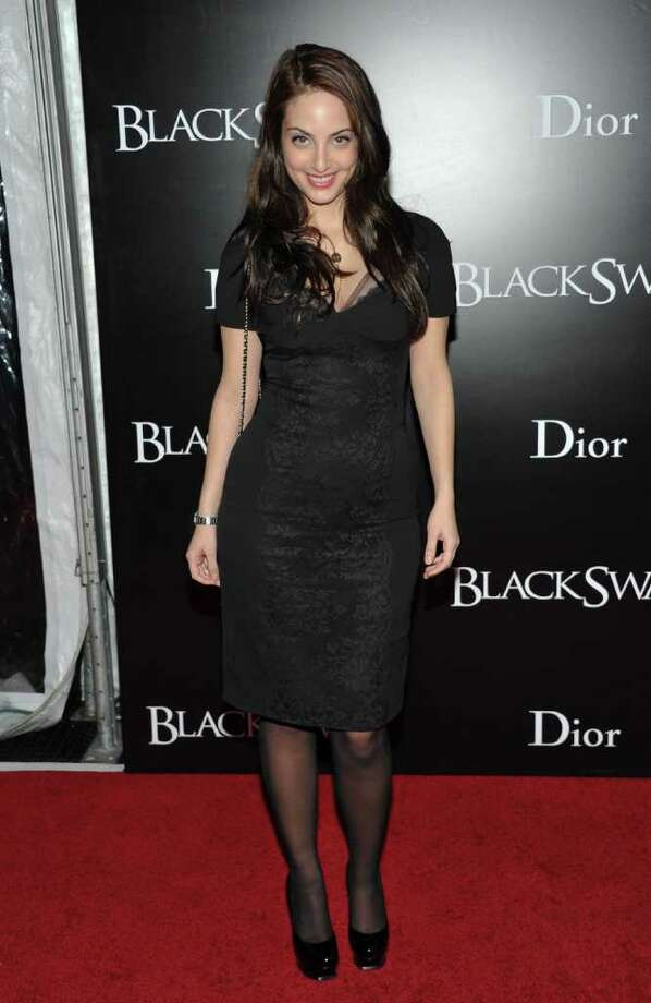Singer / songwriter Alexa Joel attends the premiere of 'Black Swan' at the Ziegfeld Theatre on Tuesday, Nov. 30, 2010 in New York. (AP Photo/Evan Agostini) Photo: Evan Agostini