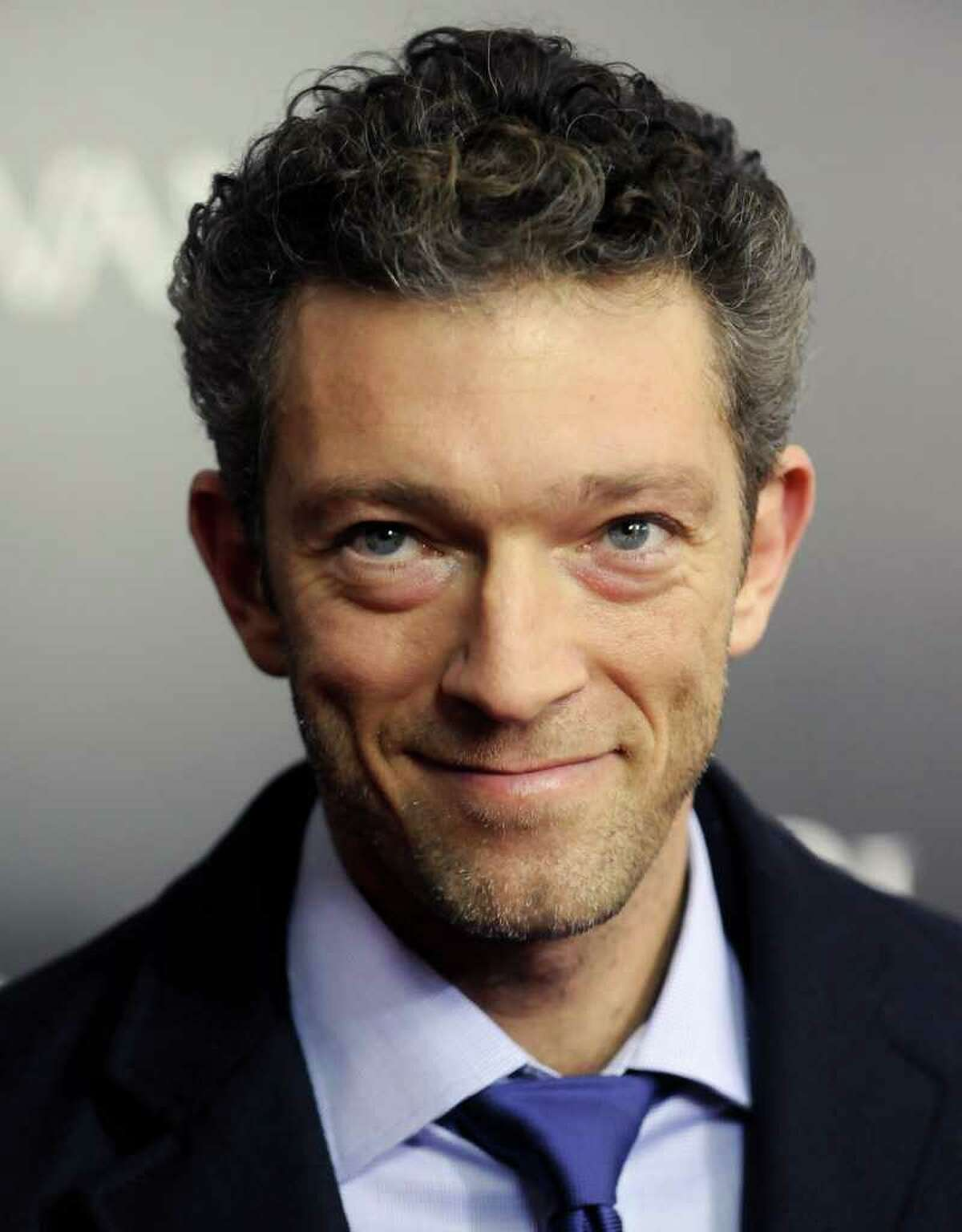 Actor Vincent Cassel attends the premiere of 'Black Swan' at the Ziegfeld Theatre on Tuesday, Nov. 30, 2010 in New York. (AP Photo/Evan Agostini)