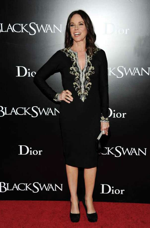 Actress Barbara Hershey attends the premiere of 'Black Swan' at the Ziegfeld Theatre on Tuesday, Nov. 30, 2010 in New York. (AP Photo/Evan Agostini) Photo: Evan Agostini