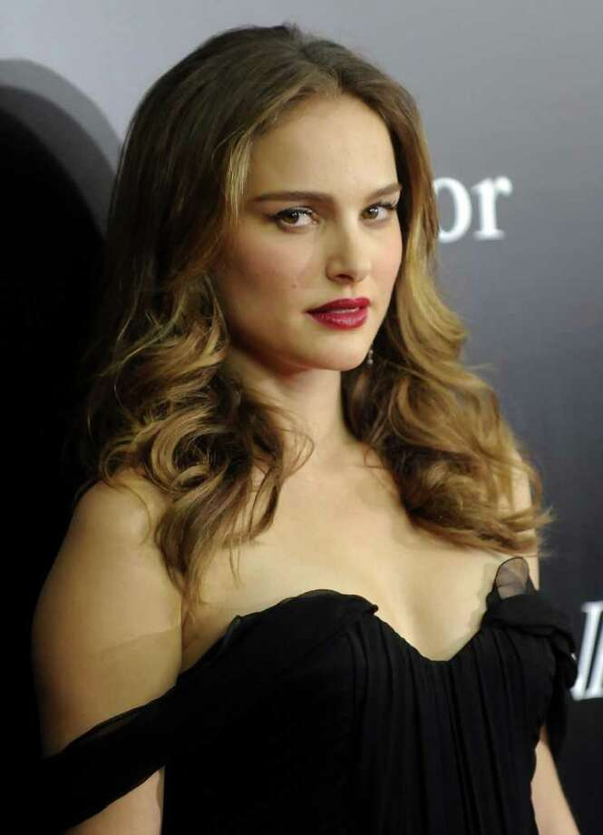 Actress Natalie Portman attends the premiere of 'Black Swan' at the Ziegfeld Theatre on Tuesday, Nov. 30, 2010 in New York. (AP Photo/Evan Agostini) Photo: Evan Agostini