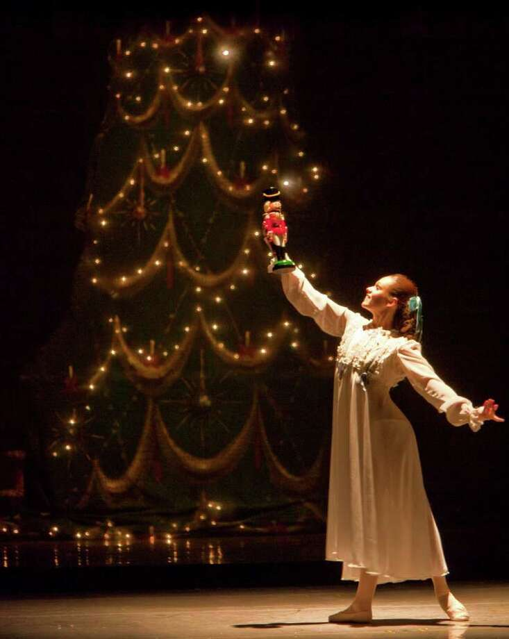 Connecticut Ballet will once again present the holiday classic, 'The Nutcracker,' at Stamford's Palace Theatre, Saturday and Sunday, Dec. 11 and 12. The cast of more than 120 people includes dancers from across the area, members of the ballet company and guest performers. Contributed photo/Ben Gancsos Photo: Contributed Photo / Stamford Advocate Contributed