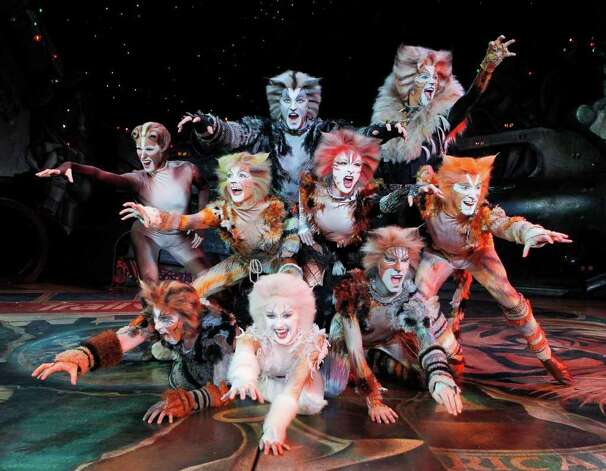 """Cats"" will be performed at Stamford's Palace Theatre Dec. 4 and 5. Photo: Contributed Photo / Connecticut Post Contributed"