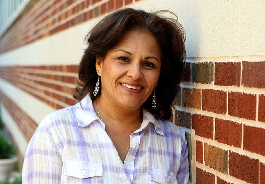 Diana Flores is a former U.S. Air Force nurse who is now a graduate student at the University of the Incarnate Word.