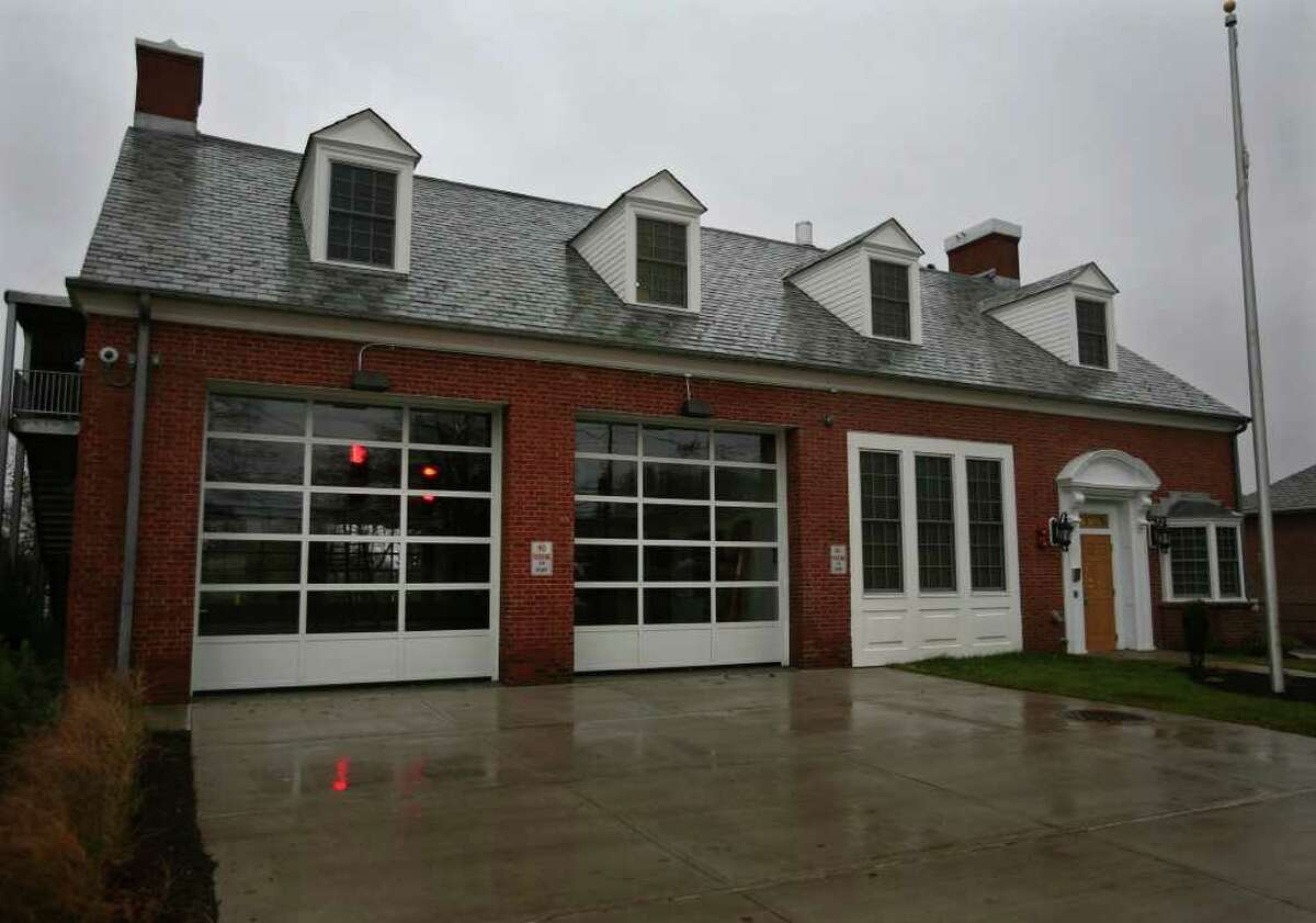 The new Stratford EMS building, the site of the former fire station on Main Street in downtown Stratford.