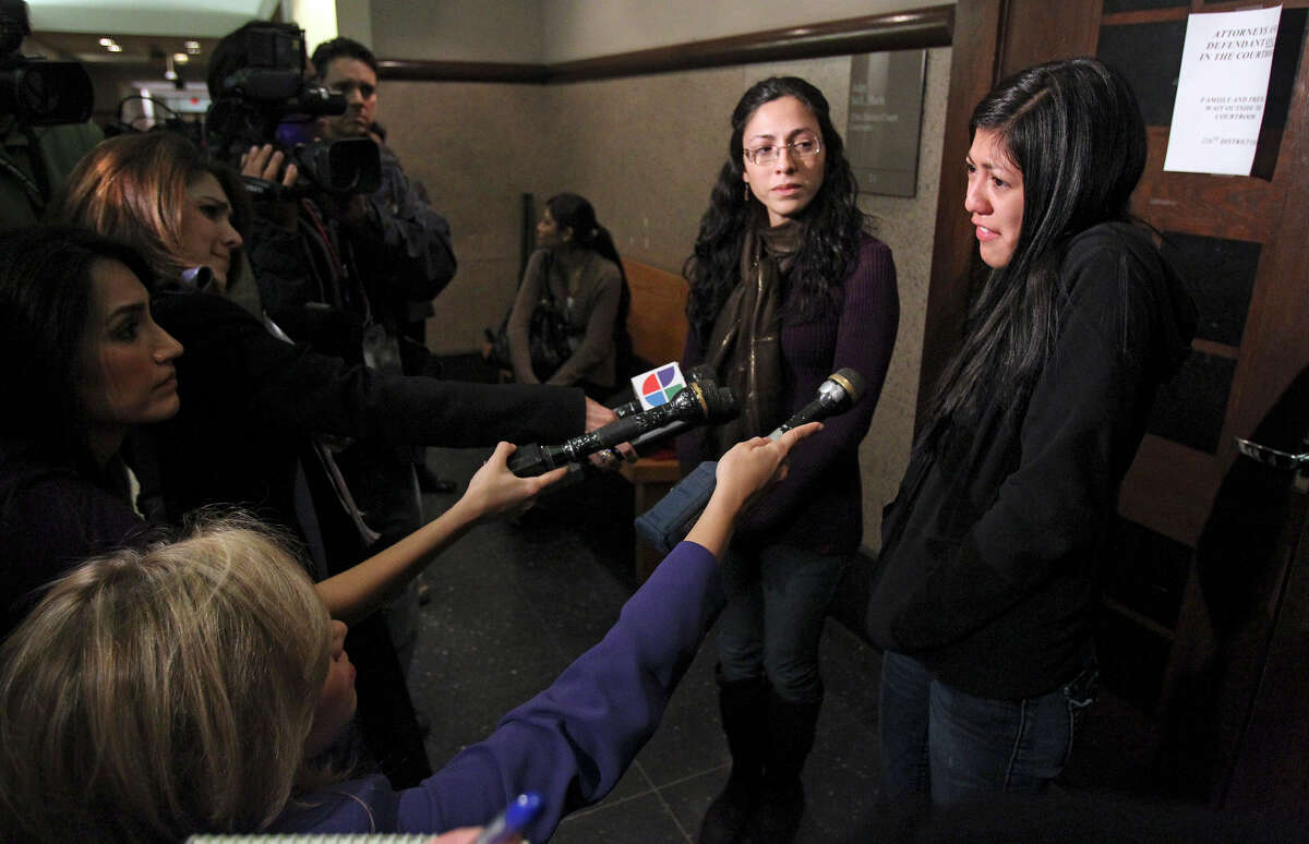 Simona Davis, the widow of the victim, struggles to explain her feelings after Seaton was sentenced to 15 years in prison.