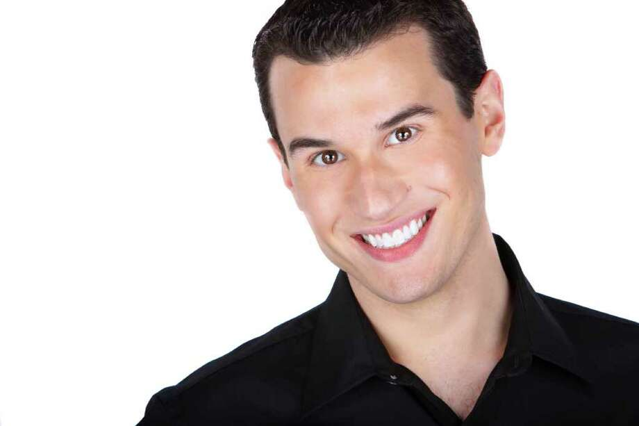 Broadway star Dan Micciche, who grew up in Darien, will be performing at the Heights & Lights holiday celebration in downtown Stamford, at 4:30 p.m., Sunday, Dec. 5. In addition to a rappelling Santa and friends, there will be a tree-lighting and fireworks display. Contributed photo/Sean Turi Photo: Contributed Photo / Stamford Advocate Contributed