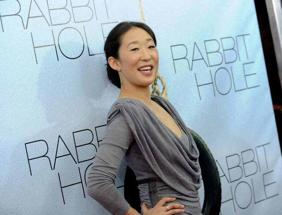 Actress Sandra Oh attends the premiere of 'Rabbit Hole' at the Paris Theatre on Thursday, Dec. 2, 2010 in New York. (AP Photo/Evan Agostini) Photo: Evan Agostini