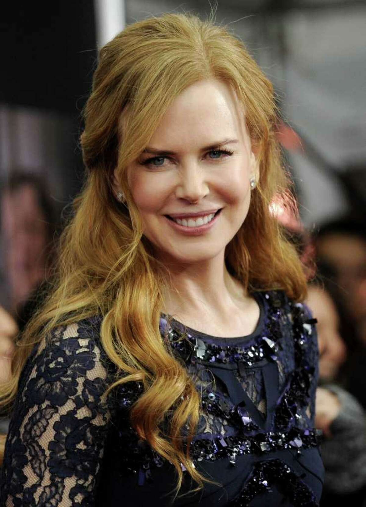 Actress Nicole Kidman attends the premiere of 'Rabbit Hole' at the Paris Theatre on Thursday, Dec. 2, 2010 in New York. (AP Photo/Evan Agostini)