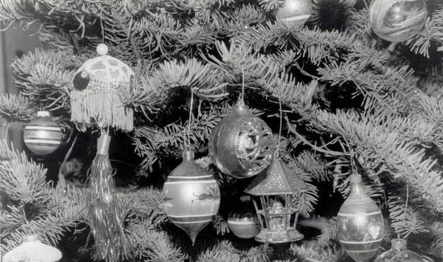 """The tree has ornaments Darrell Troppy began collecting about 10 years ago."" File photo Dec. 16, 1994"