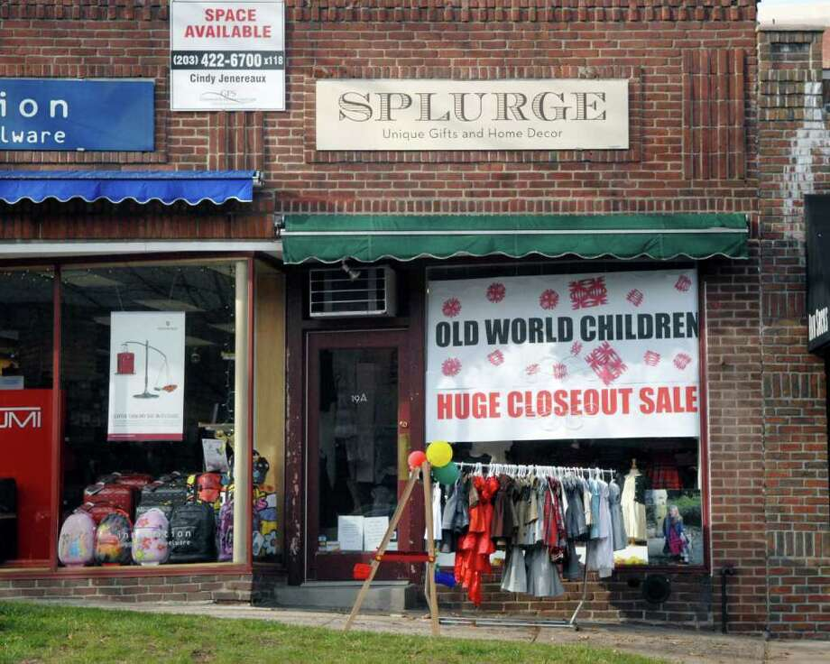 Old World Children store, subletting the 19A E. Putnam Ave. location from Splurge, Greenwich, Friday, Dec. 3, 2010. Photo: Bob Luckey / Greenwich Time