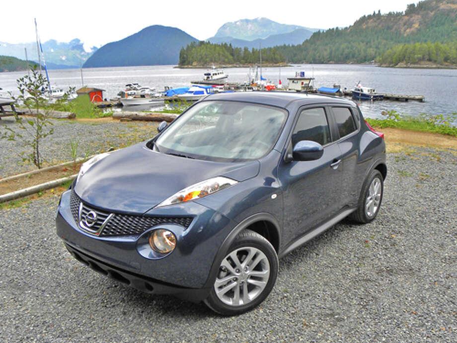 2011 Nissan Juke (Photos by Dan Lyons) Photo: Dan Lyons / copyright: Dan Lyons 2010
