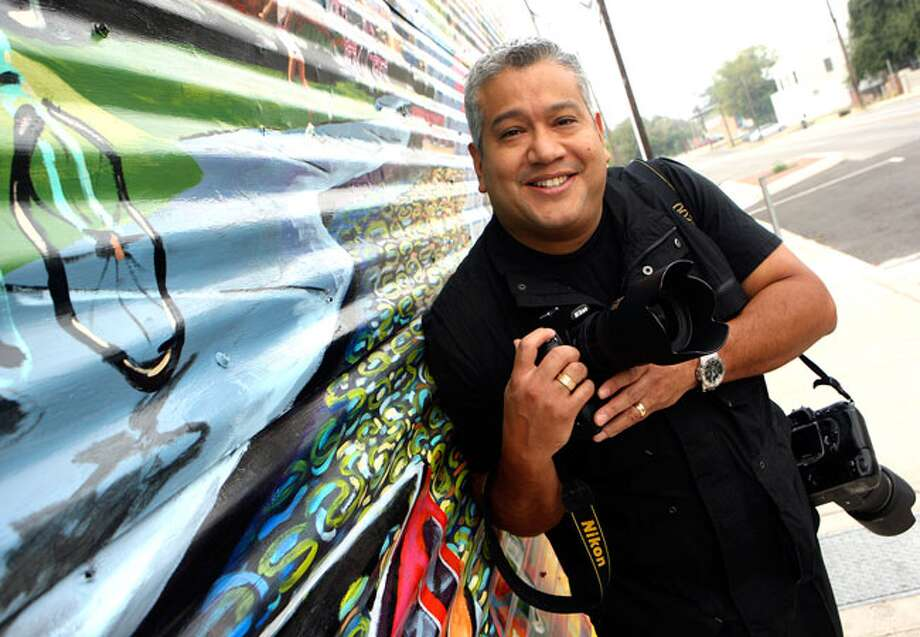 Photographer and business owner Jonathan Alonzo covers high-profile events throughout San Antonio and is the chief photographer for Fiesta.