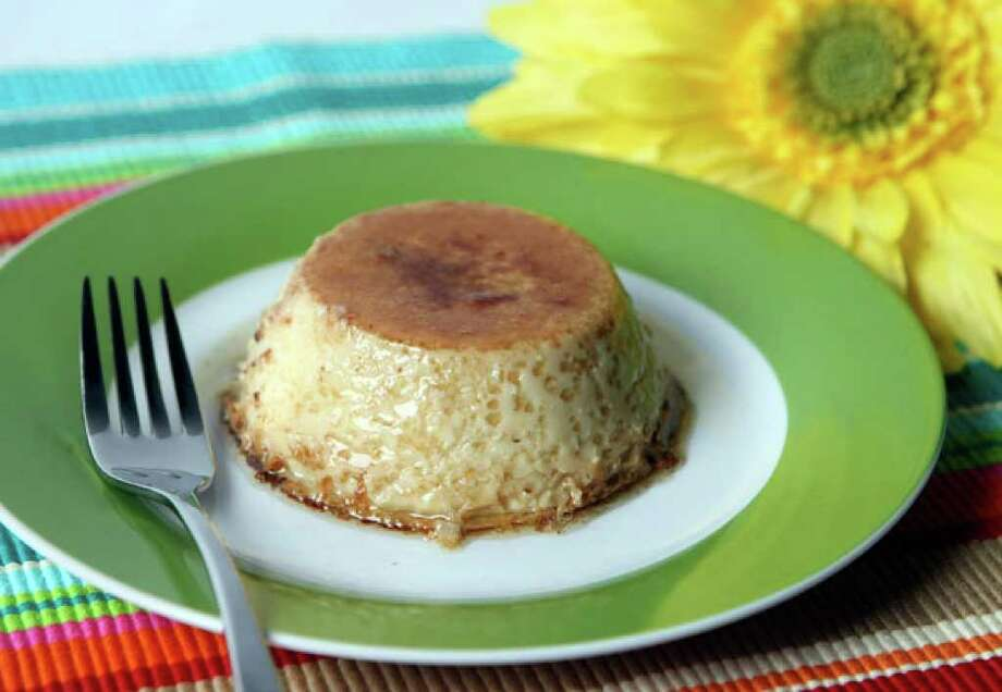 Simple substitutions make a more healthful version of flan, a classic Latin American dessert.