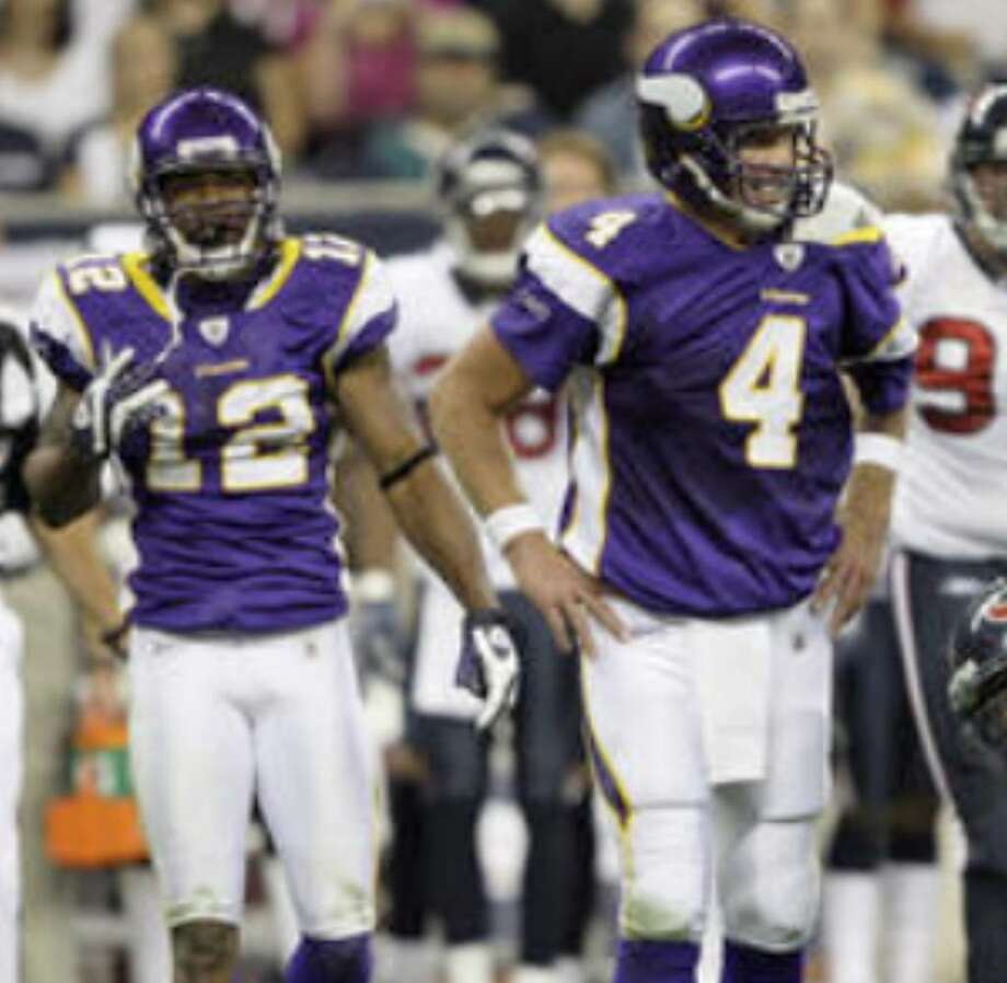 Vikings quarterback Brett Favre will not see action in Friday's preseason finale against the Cowboys.