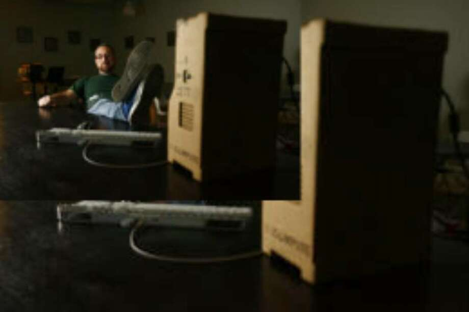 Houstonian Brenden Macaluso has designed a cardboard PC. It's not for sale or being mass produced, yet.