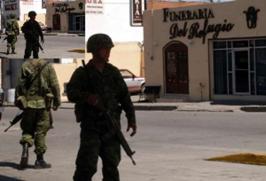 Business groups in the Mexican border city of Ciudad Juarez are calling for United Nations peacekeepers to quell the drug-related violence that has given their city one of the highest homicide rates in the world.
