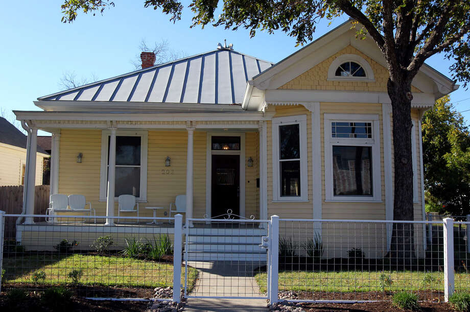 The Bowerses' bungalow in the Lavaca neighborhood just south of downtown San Antonio was built around the turn of the 20th century.