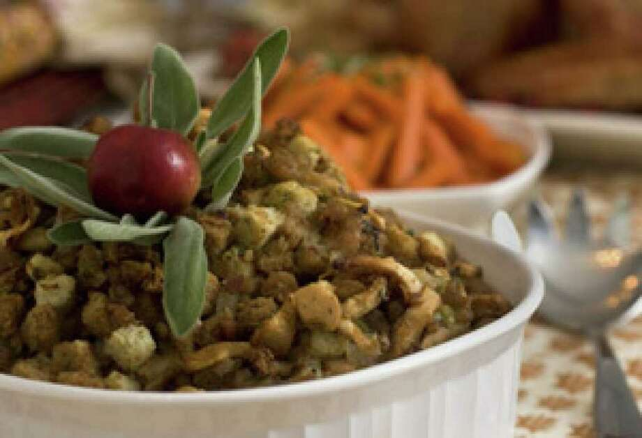 Sausage Stuffing with Apples and Sage