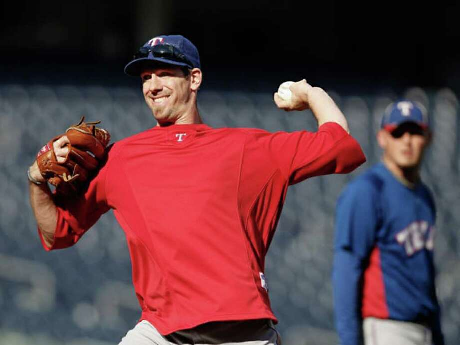Rangers pitcher Cliff Lee will be trying to become only the third MLB pitcher to win his first seven postseason decisions.