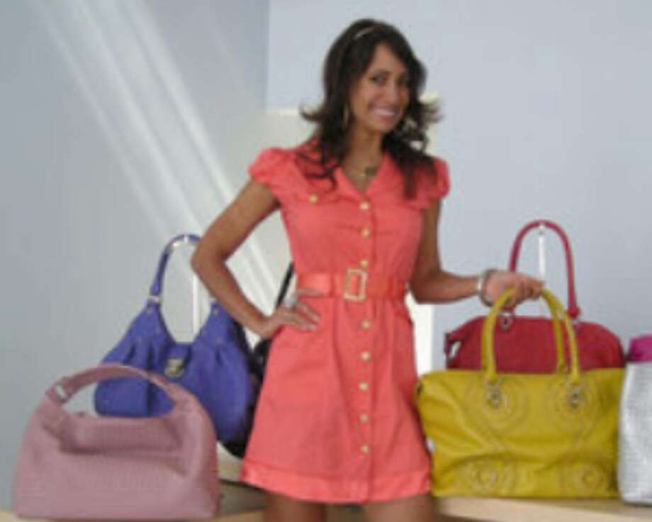 Rita Verreos will be working at the shopping network HSN as a spokeswoman for Sharif handbags.