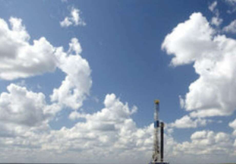 One of Petrohawk Energy's drilling sites in the Eagle Ford shale is in McMullen County.