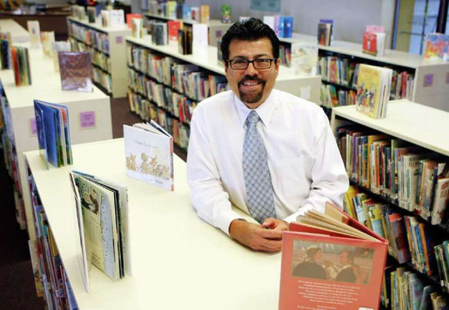 Ramiro Salazar is the first Latino director of the San Antonio Public Library, overseeing the system's 24 branch libraries and its employees.