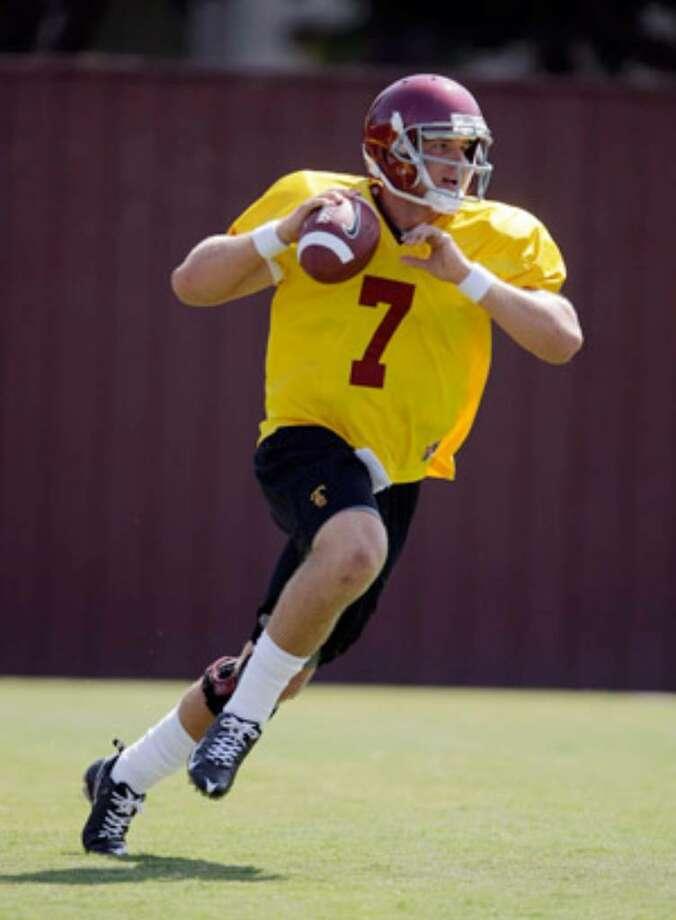 Southern Cal true freshman quarterback Matt Barkley makes his debut Saturday vs. San Jose St.