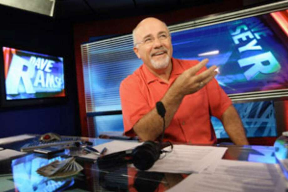 Dave Ramsey broadcasts from his studio in Brentwood, where he doesn't deny mixing religion and business. In fact, he embraces it — and so do his many followers, who helped make him rich.