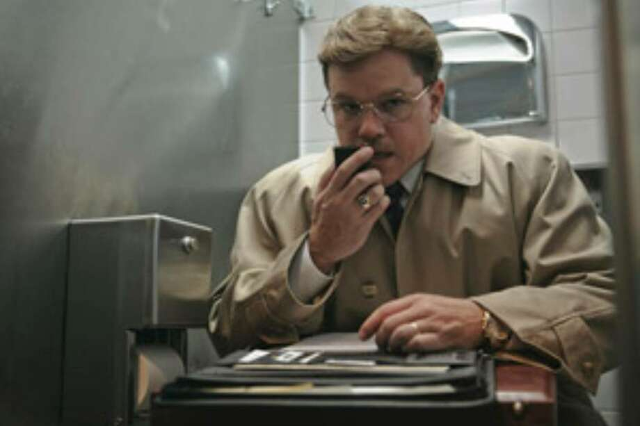 "Matt Damon plays a shady whistle-blower in ""The Informant!"""