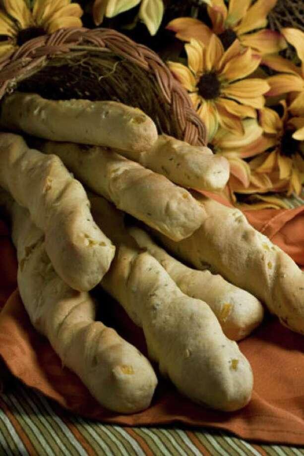 Whole-wheat Apricot Sage Breadsticks