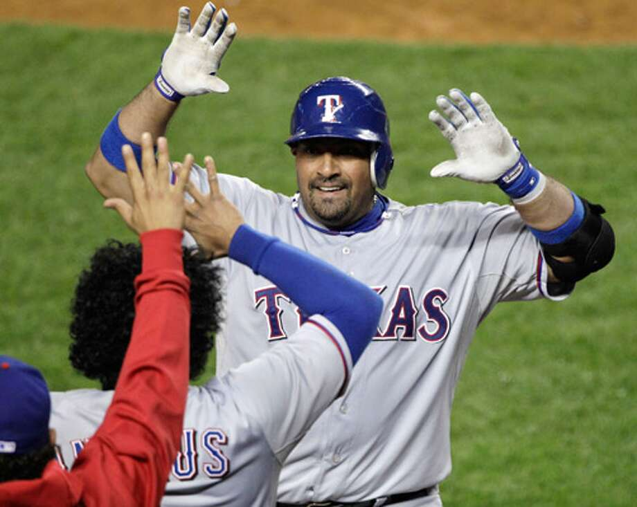 Texas Rangers catcher Bengie Molina will get a World Series champion ring regardless of the matchup's outcome.