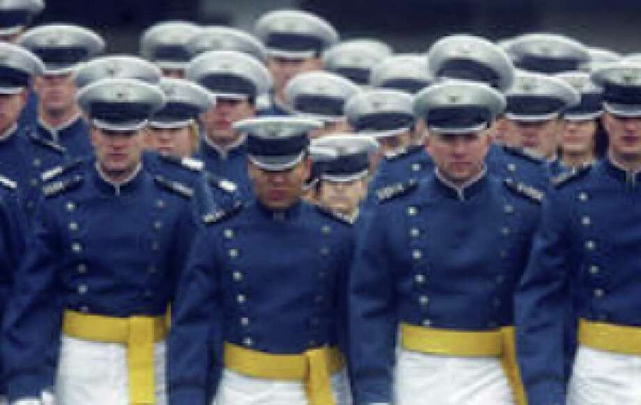 The tolerance issue surfaced when a 2004 survey found many cadets reported slurs or jokes about other religions and that some felt ostracized because they weren't religious.