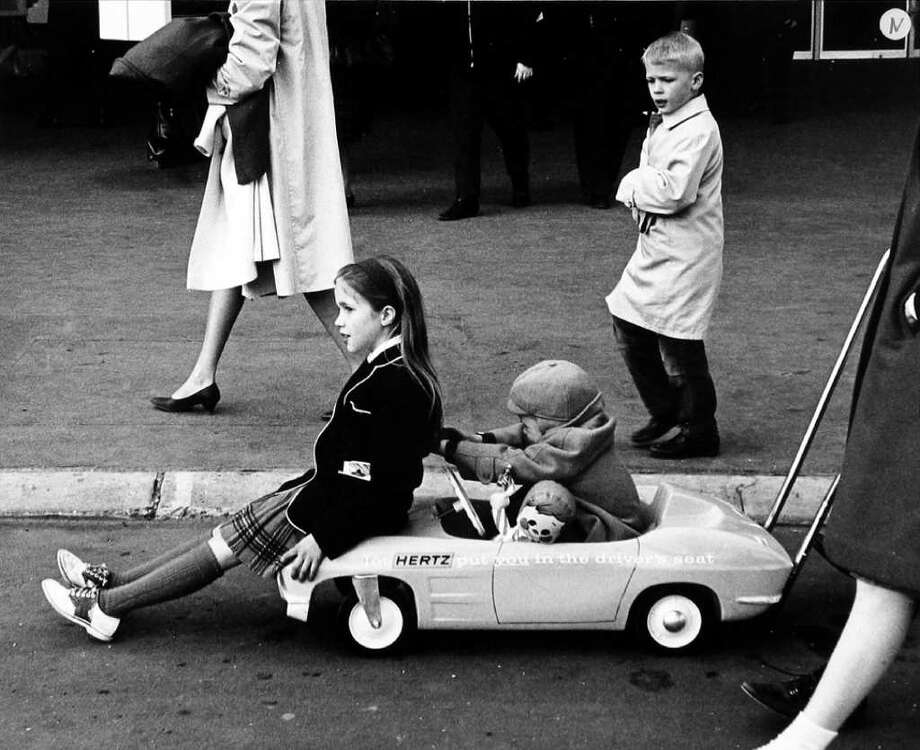 """Heinz Stroller, World's Fair, NYC, 1964"" by the late American photographer Ruth Orkin, part of ""Kid Culture,"" an exhibit of photographs on view Friday through Feb. 20 at the Westport Arts Center. Photo: Contributed Photo / Connecticut Post Contributed"