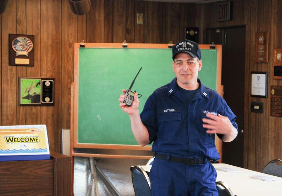 Arthur Gottlieb will steer the Norwalk Flotilla 72 through 2011. Photo: Contributed Photo / Norwalk Citizen