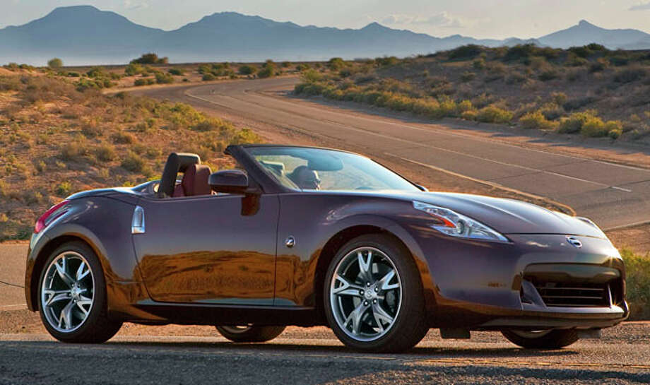 For open-air driving fun, Nissan offers the 2011 370Z Roadster with prices ranging from $37,520 to $42,370 (plus freight). Photo: Nissan Courtesy Photo