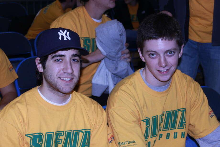 Were you seen at Siena vs UAlbany? Photo: Charlie Vella