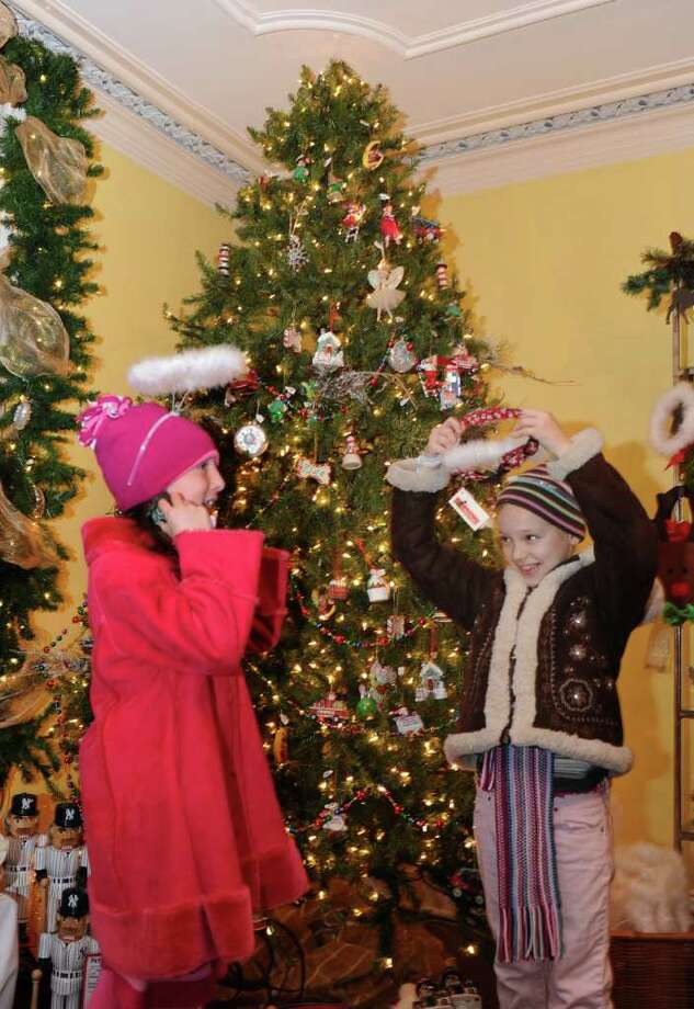 The 2010 Fairfield Christmas Tree Festival was held at the historic Burr  Mansion in Fairfield,